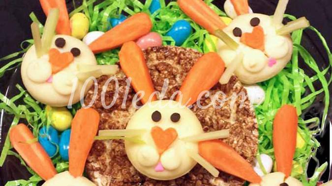 Кролики из сыра Бэбибэл: рецепт с пошаговым фото