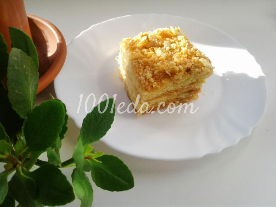Классический торт Наполеон: рецепт с пошаговым фото