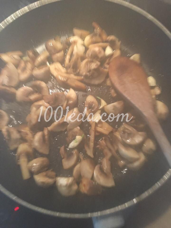 Курица в горчичном соусе с грибами: рецепт с пошаговым фото - Шаг №3