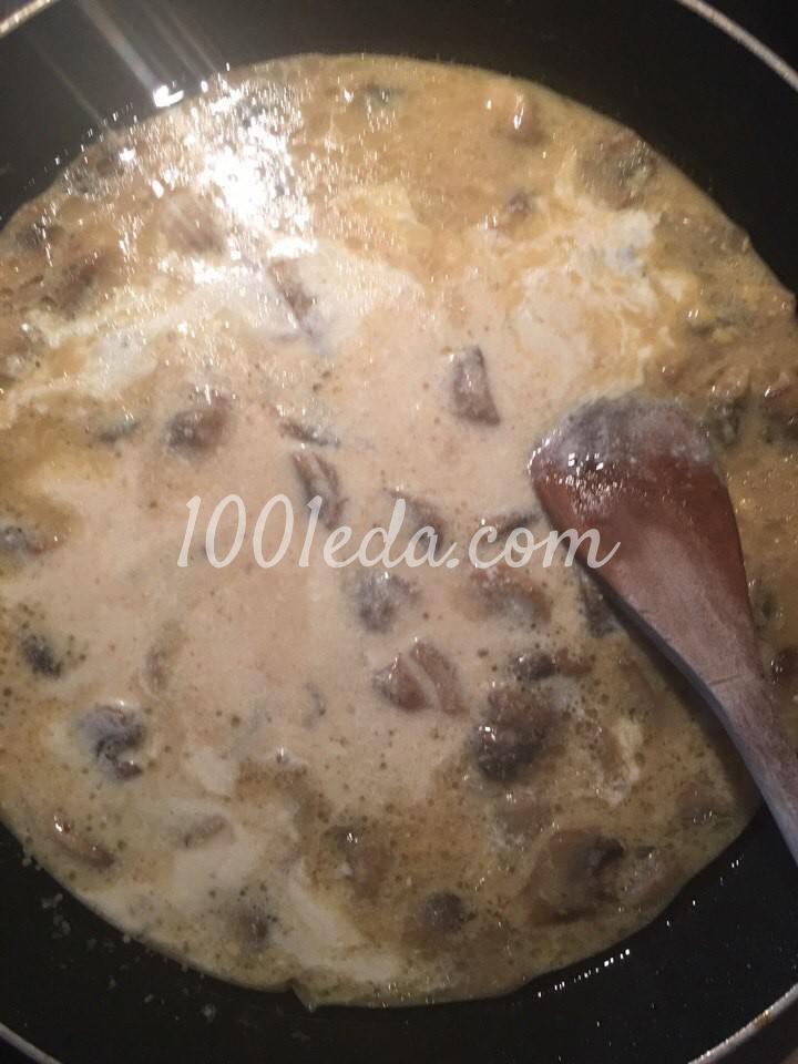 Курица в горчичном соусе с грибами: рецепт с пошаговым фото - Шаг №5