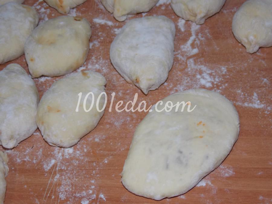 Пирожки с капустой Хочу добавки: рецепт с пошаговым фото - Шаг №6