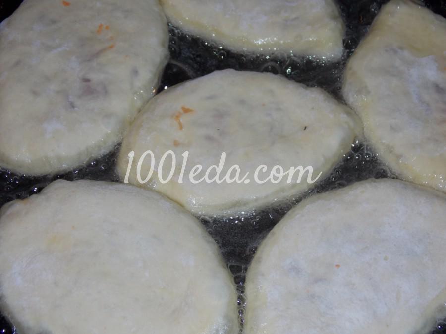 Пирожки с капустой Хочу добавки: рецепт с пошаговым фото - Шаг №7