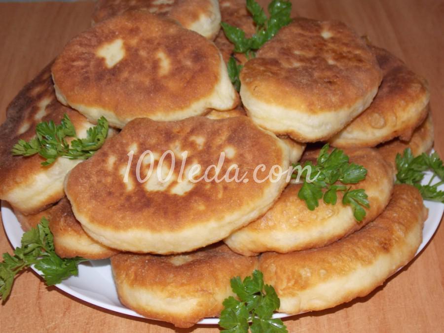 Рецепт пирожков с капустой на сковороде с пошагово