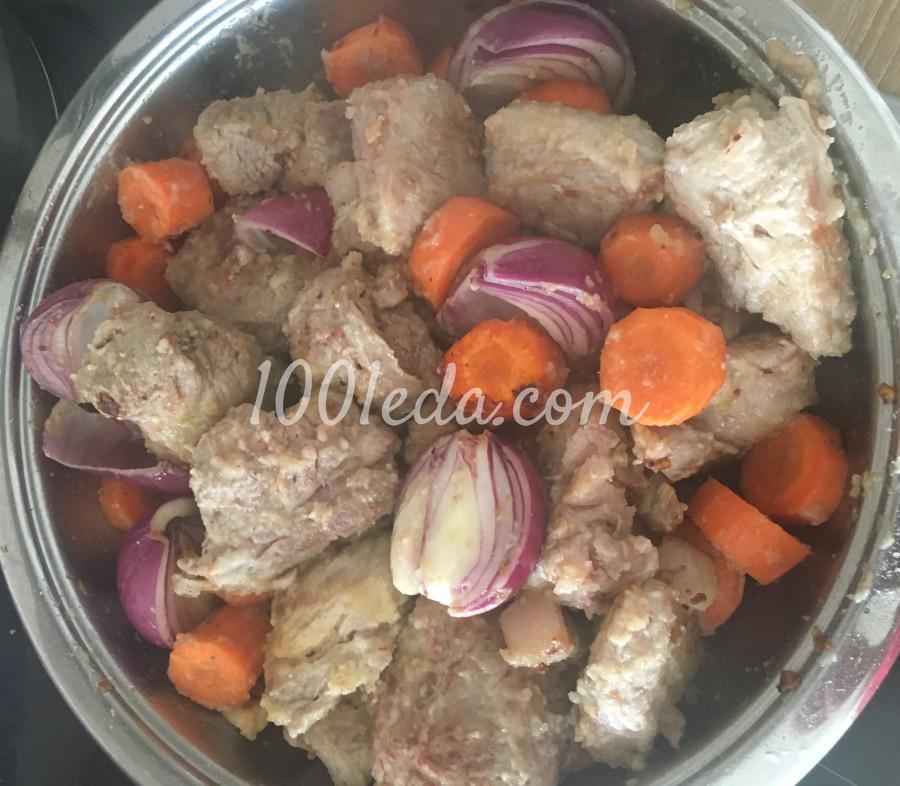 Мясо по-бургундски из свинины: рецепт с пошаговым фото - Шаг №6