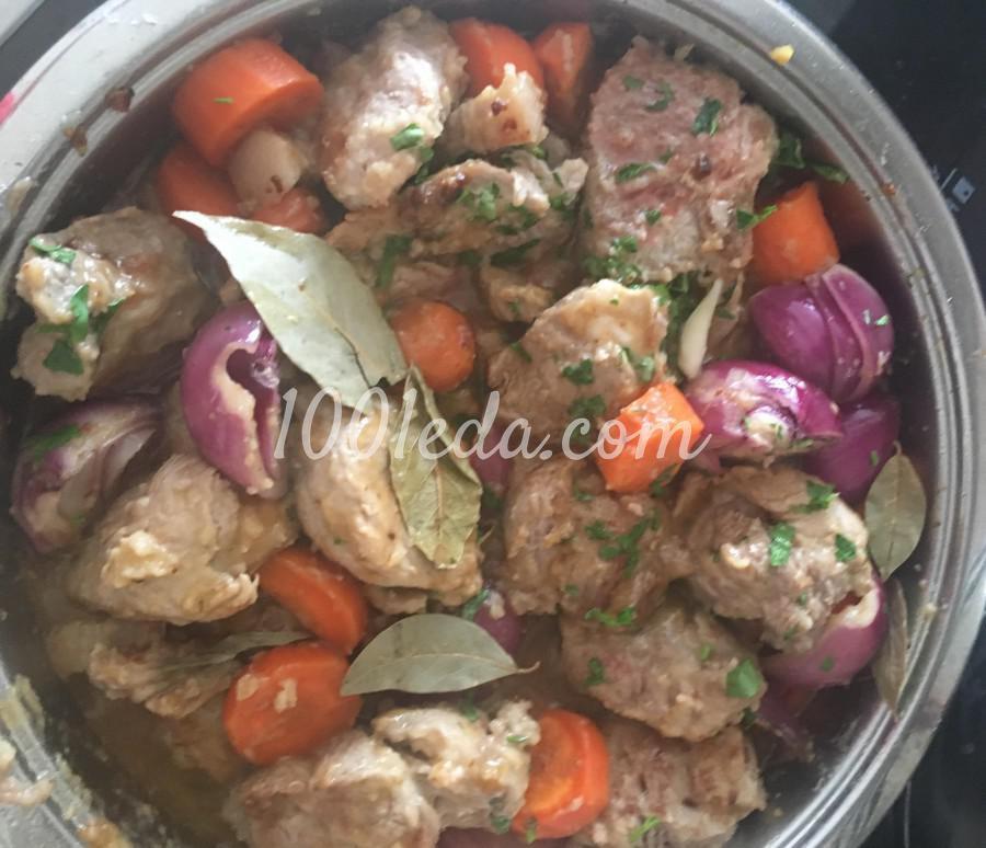 Мясо по-бургундски из свинины: рецепт с пошаговым фото - Шаг №7