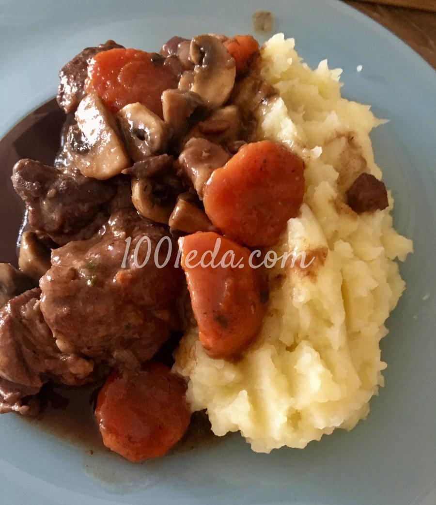Мясо по-бургундски из свинины: рецепт с пошаговым фото