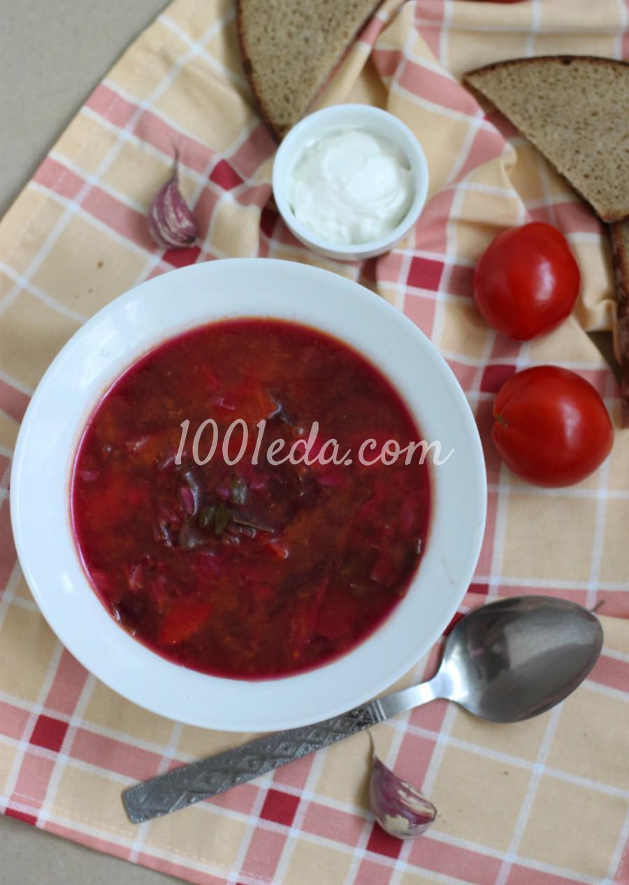 Борщ с молодой капустой рецепт пошагово