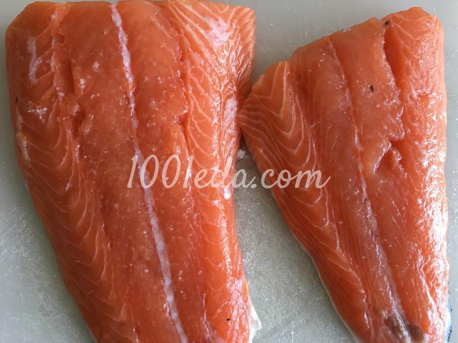 Сочный лосось в духовке: рецепт с пошаговым фото - Шаг №1