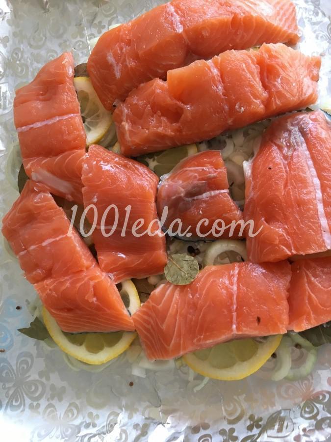 Сочный лосось в духовке: рецепт с пошаговым фото - Шаг №5
