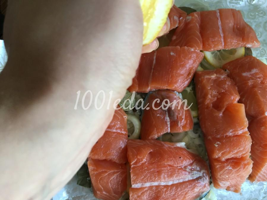 Сочный лосось в духовке: рецепт с пошаговым фото - Шаг №6