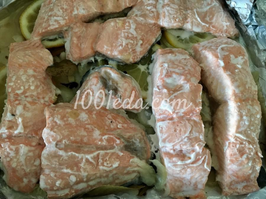 Сочный лосось в духовке: рецепт с пошаговым фото