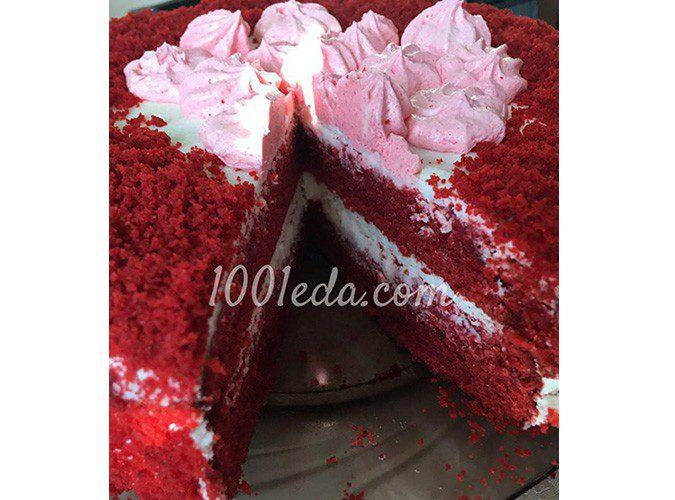 Торт Красный бархат: рецепт с пошаговым фото