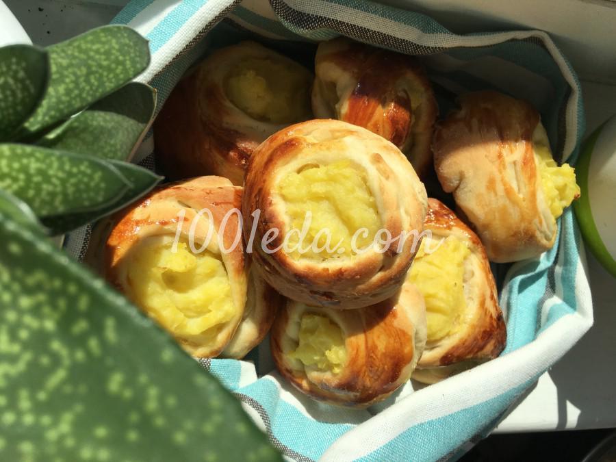 Шанежки с картошкой: рецепт с пошаговым фото