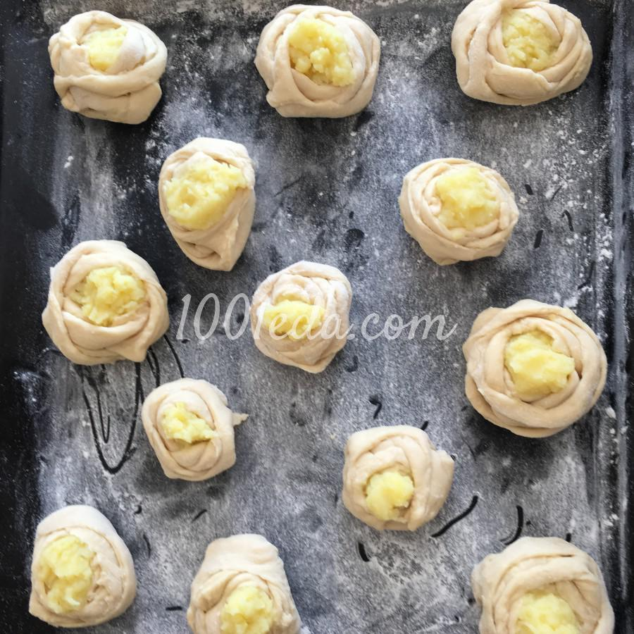 Шанежки с картошкой: рецепт с пошаговым фото - Шаг №7
