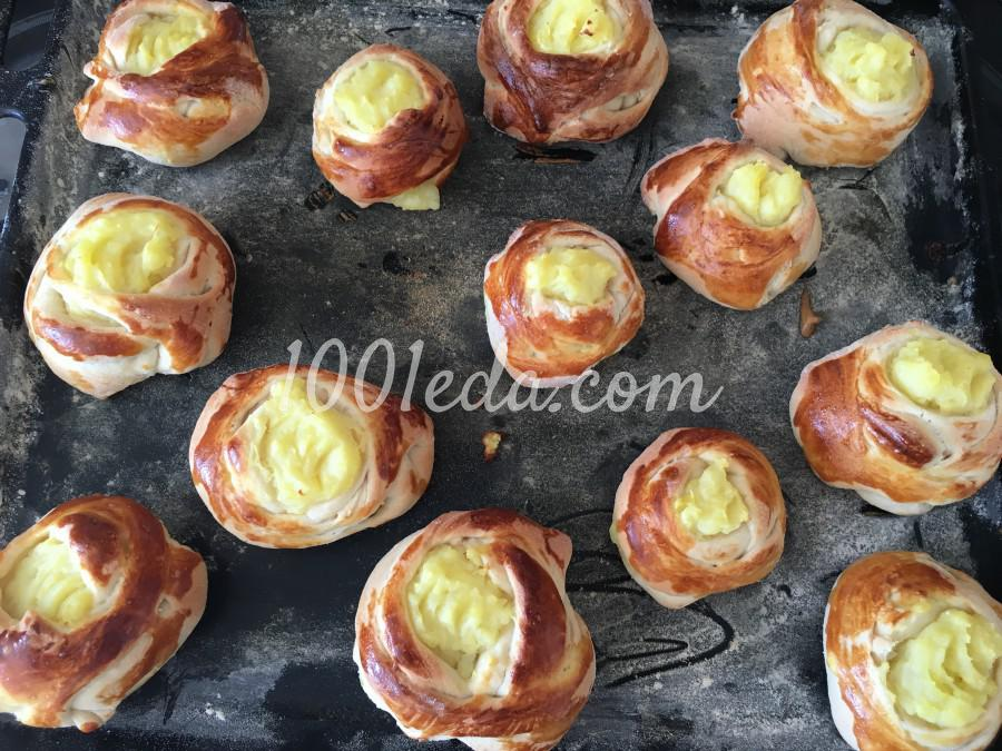 Шанежки с картошкой: рецепт с пошаговым фото - Шаг №8