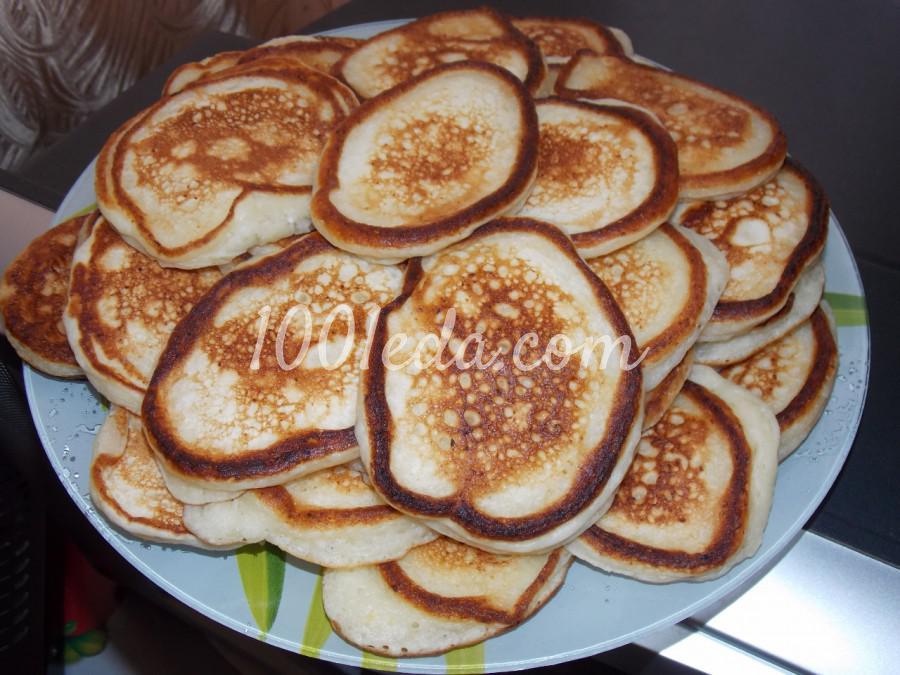 Творожные оладушки с ванилью
