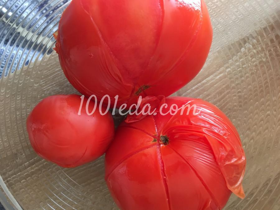 Божественные баклажаны с томатами и сыром: рецепт с пошаговым фото - Шаг №3