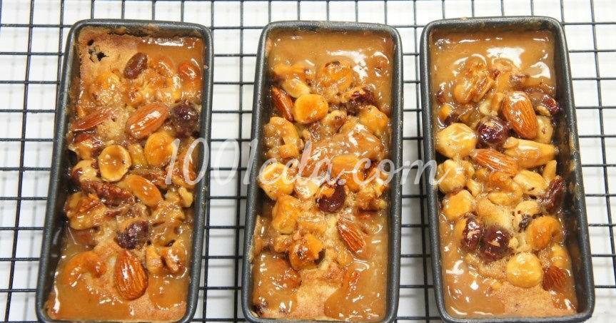 Медовые кексы с орехами, клюквой и изюмом: пошагово с фото - Шаг №12