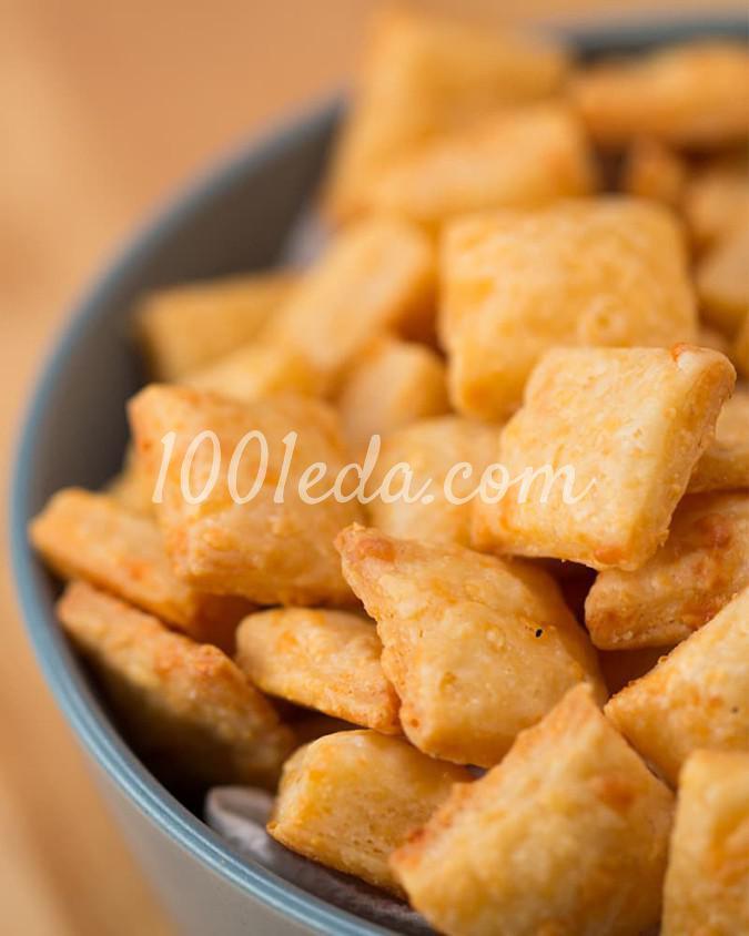 Легкие сырные крекеры