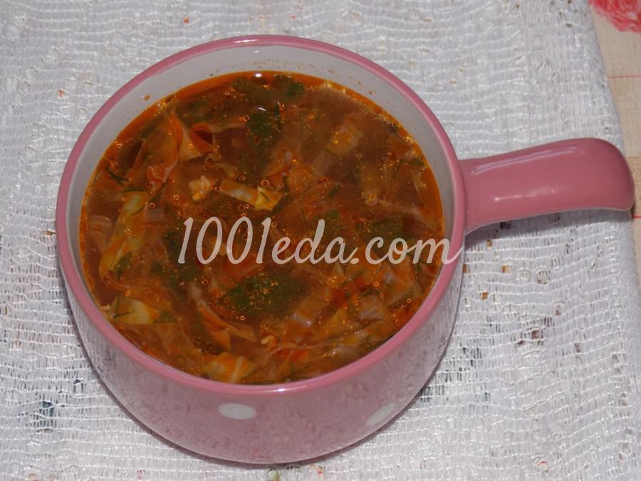 Нутово-капустный суп: пошаговое фото