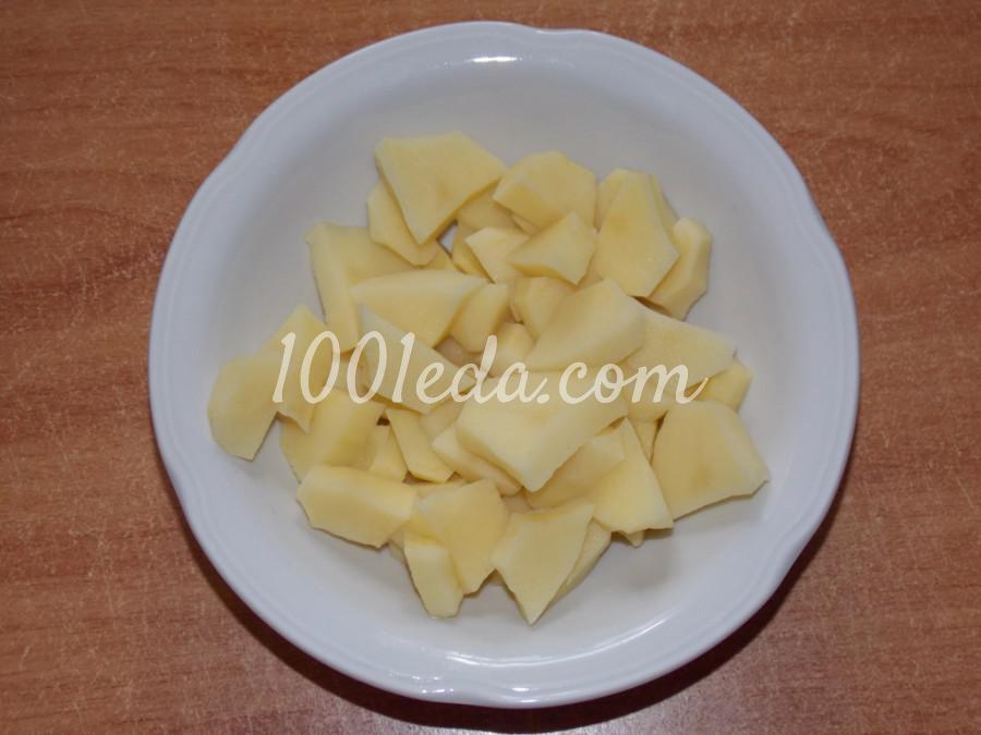 Нутово-капустный суп: пошаговое фото - Шаг №2