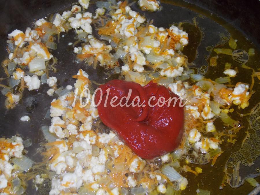 Нутово-капустный суп: пошаговое фото - Шаг №6