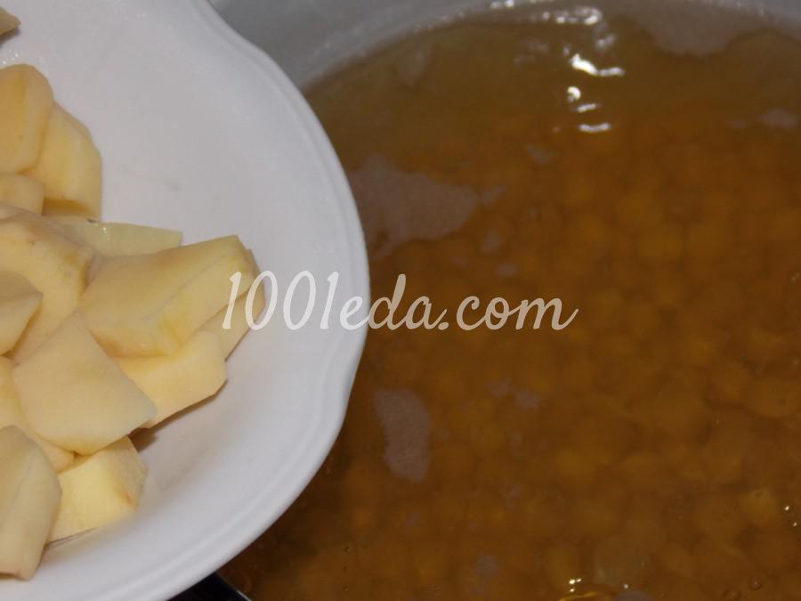 Нутово-капустный суп: пошаговое фото - Шаг №8