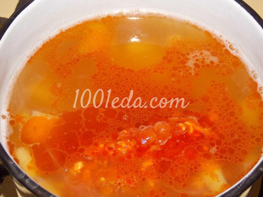 Нутово-капустный суп: пошаговое фото - Шаг №9