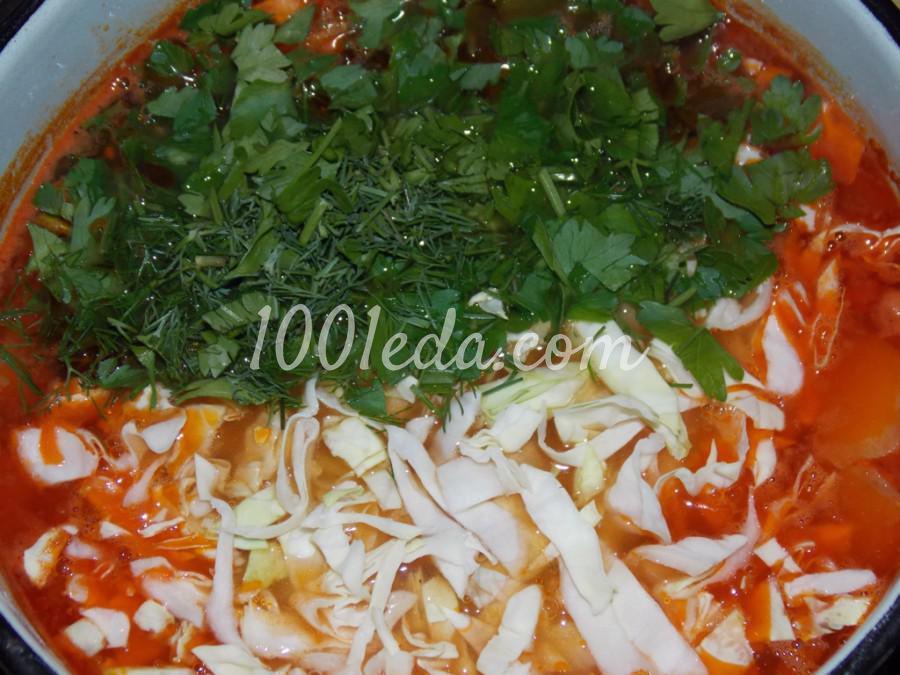Нутово-капустный суп: пошаговое фото - Шаг №10