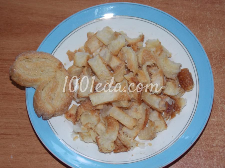 Сметанно-клубничный десерт Нежность: пошаговый с фото - Шаг №1