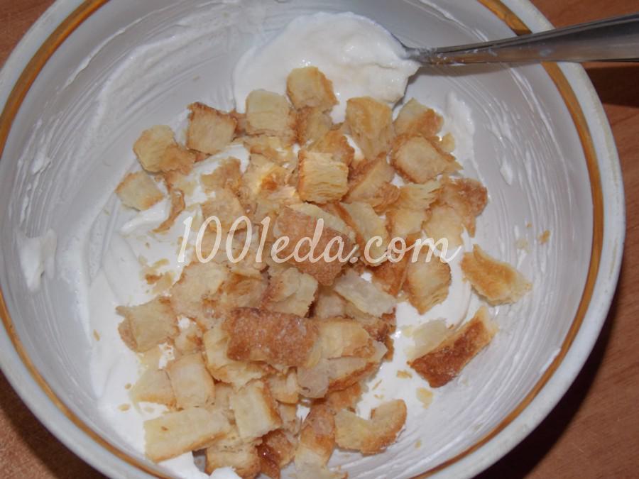 Сметанно-клубничный десерт Нежность: пошаговый с фото - Шаг №3