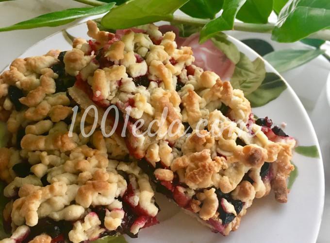 Печенье с жимолостью: пошаговое фото