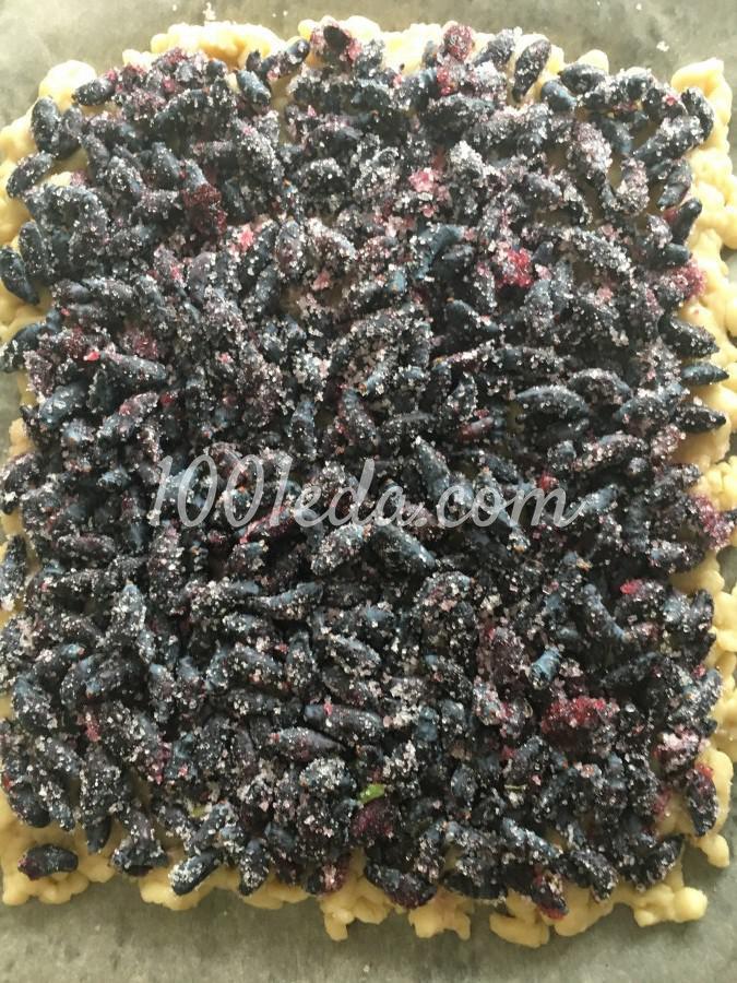 Печенье с жимолостью: пошаговое фото - Шаг №4