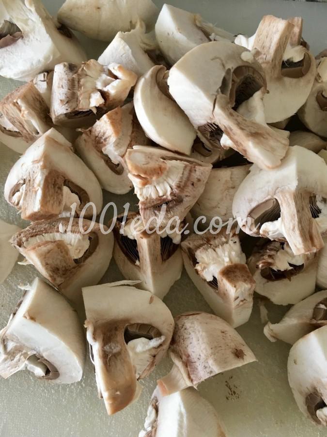 Горшочки с картофелем, грибами и сердечками: пошаговый с фото - Шаг №1