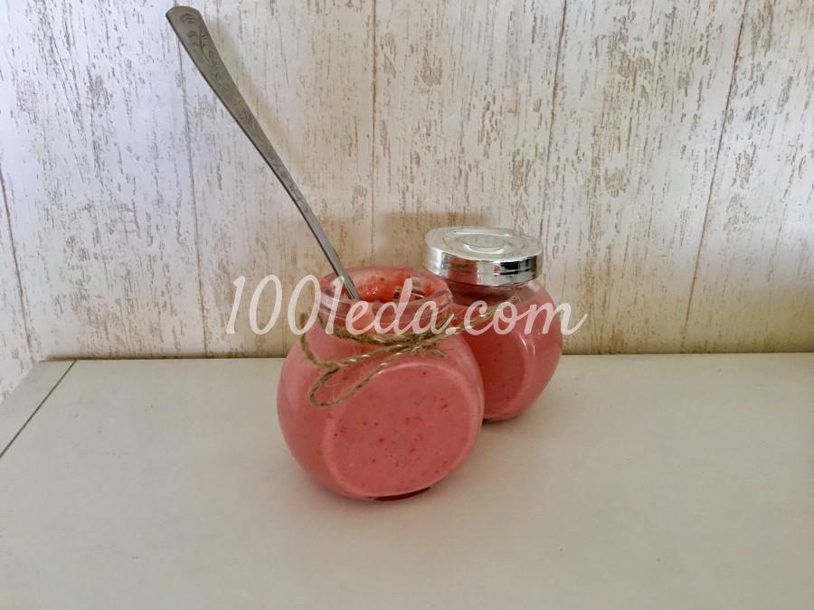 Клубничный десерт для малышей