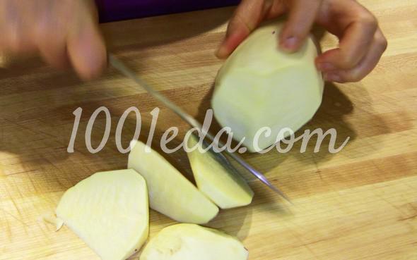 Засахаренный сладкий картофель: пошаговое фото - Шаг №2