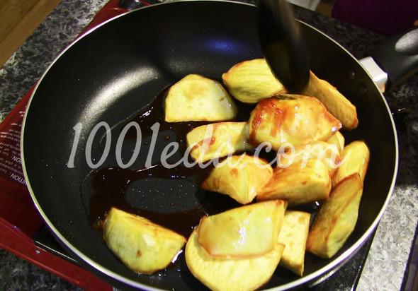 Засахаренный сладкий картофель: пошаговое фото - Шаг №6