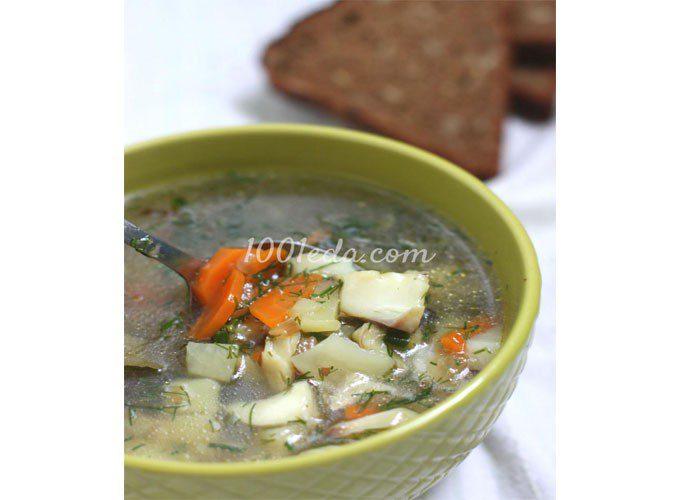 Суп из минтая: пошаговый с фото