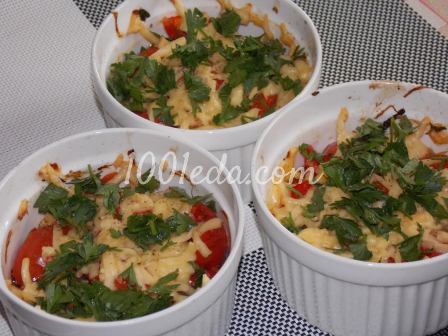 Порционные томатные запеканки: пошагово с фото