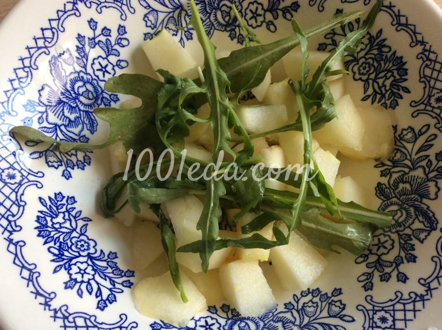 Салат с дыней и брынзой: пошаговое фото - Шаг №2