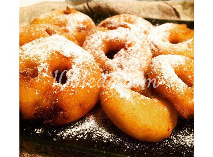 Яблочные пончики из сказки