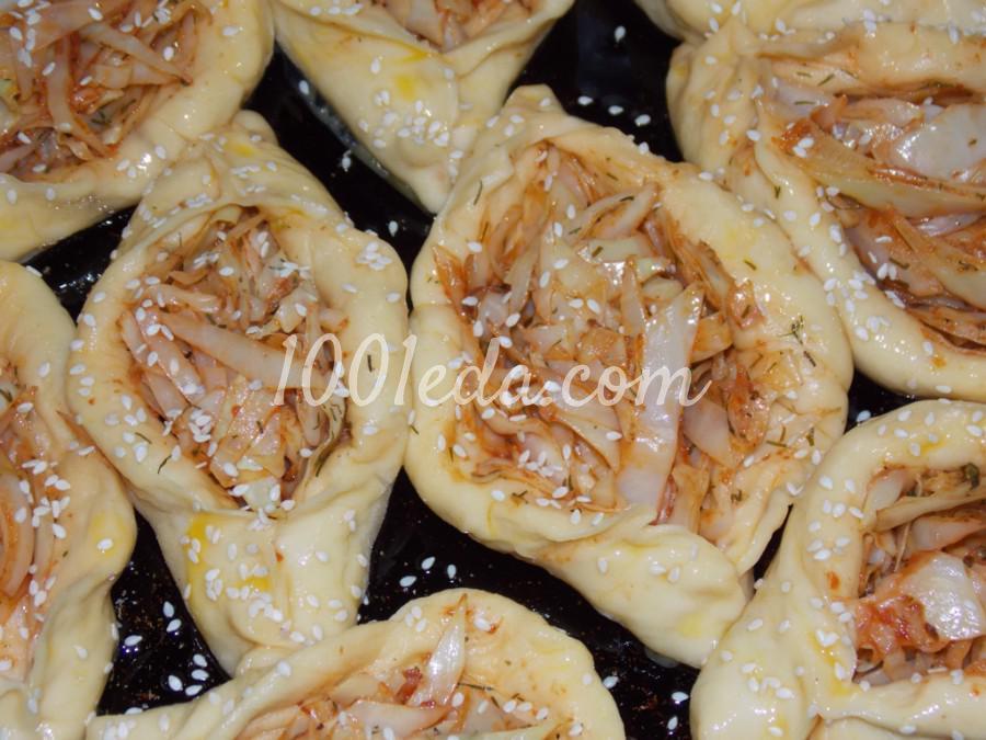 Пироги с капустой - Шаг №5