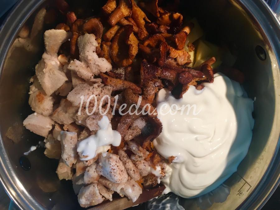 Жаркое с картофелем и лисичками: пошаговый с фото - Шаг №6