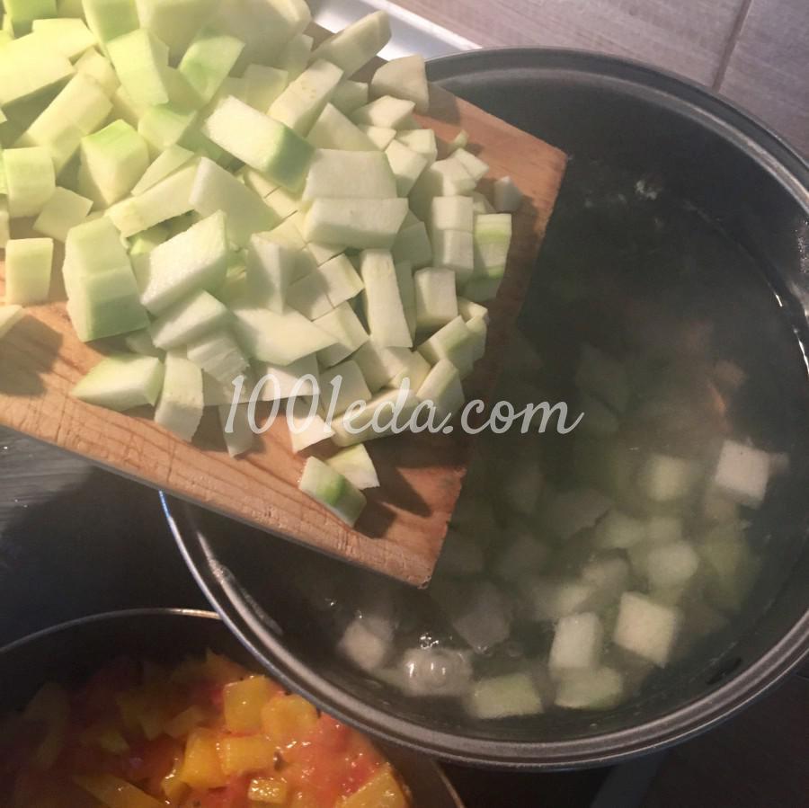 Овощной суп по-деревенски: пошаговое фото - Шаг №6
