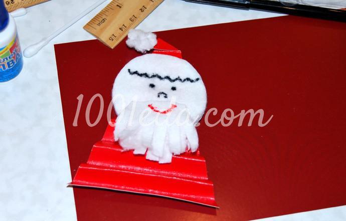 Поделки к новогоднему столу своими руками - Фото №10