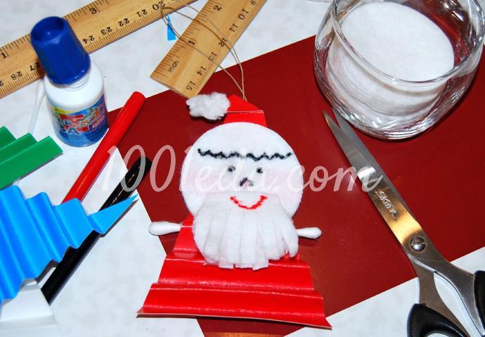 Поделки к новогоднему столу своими руками - Фото №11