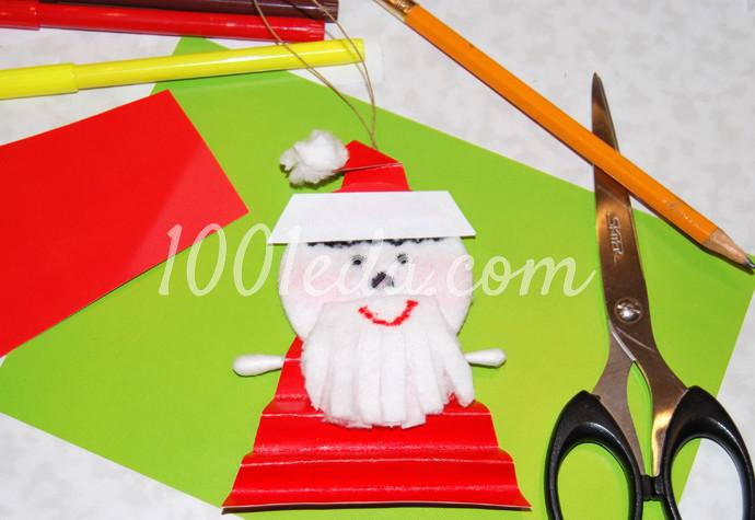 Поделки к новогоднему столу своими руками - Фото №12