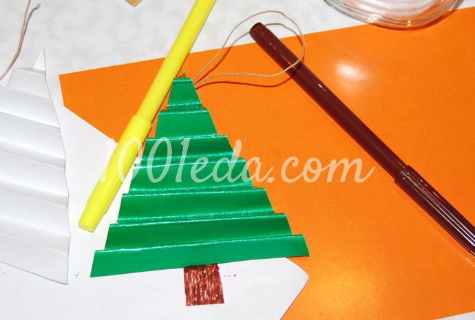 Поделки к новогоднему столу своими руками - Фото №17