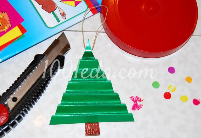 Поделки к новогоднему столу своими руками - Фото №18