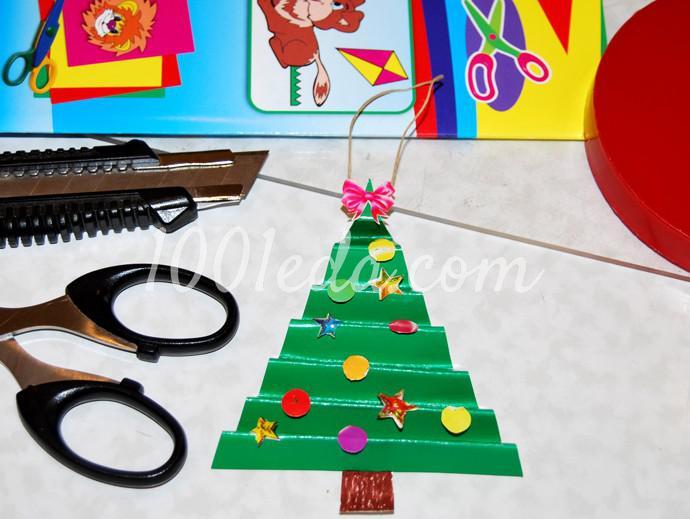 Поделки к новогоднему столу своими руками - Фото №19